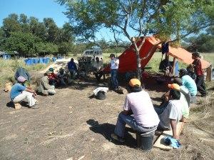 Plenaria de coordinación en La Patria. Chaco
